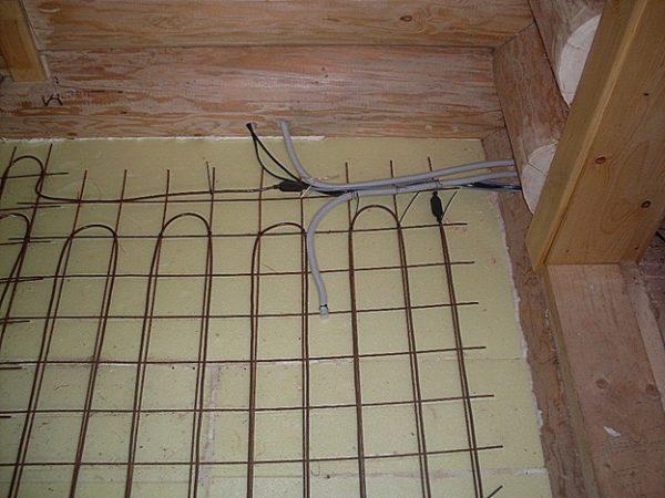 Электрический теплый пол в частном доме