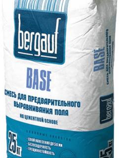 Ровнитель для пола Бергауф Бейс (Bergauf Base) базовый, 25кг/шт