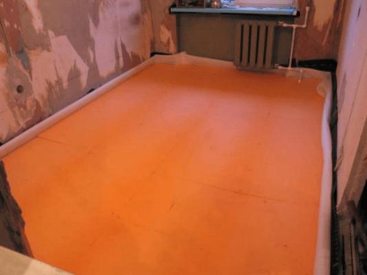 Уложенные плиты Пеноплекса