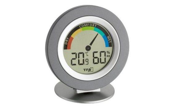 Рекомендуемая влажность в помещении должна находиться в пределах 40 — 60 %
