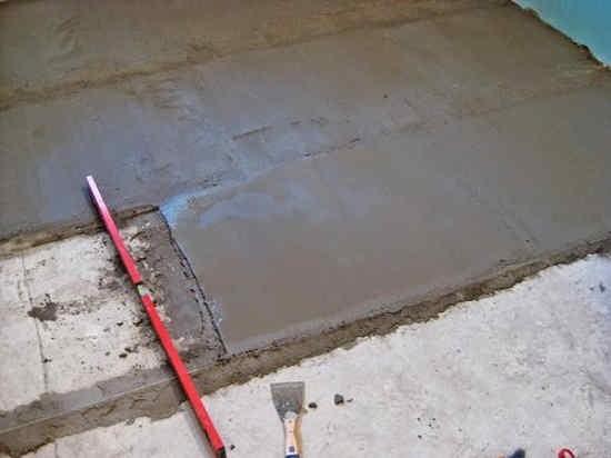 Выравниваем бетон бетон 24