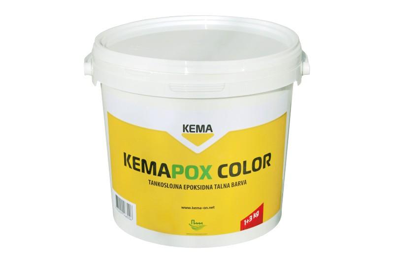 Тонкослойная эпоксидная краска для бетонных полов