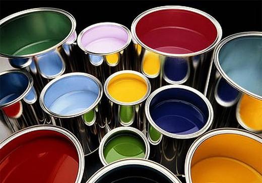 Выбирем оттенок краски