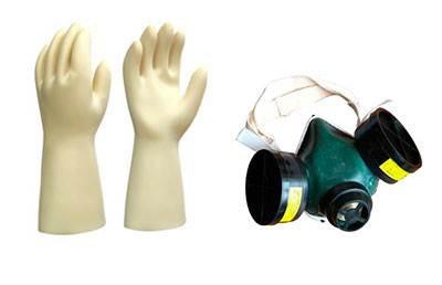 Инструкция по технике безопасности предписывает использовать индивидуальные средства защиты