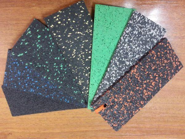 Резиновые дорожки каучуковые с вкраплением цветной крошки