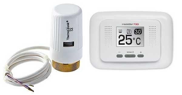 Терморегулятор и сервопривод для водяного подогрева