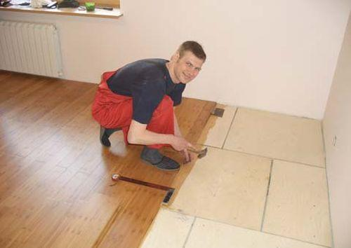 Фанера на пол под ламинат: выбор материала и лучшие способы монтажа подробно