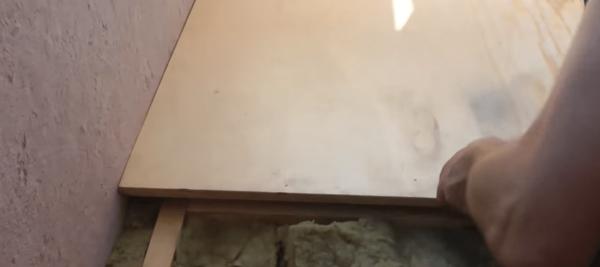 Укладка фанеры