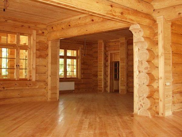 Делаем полы в деревянном доме своими руками