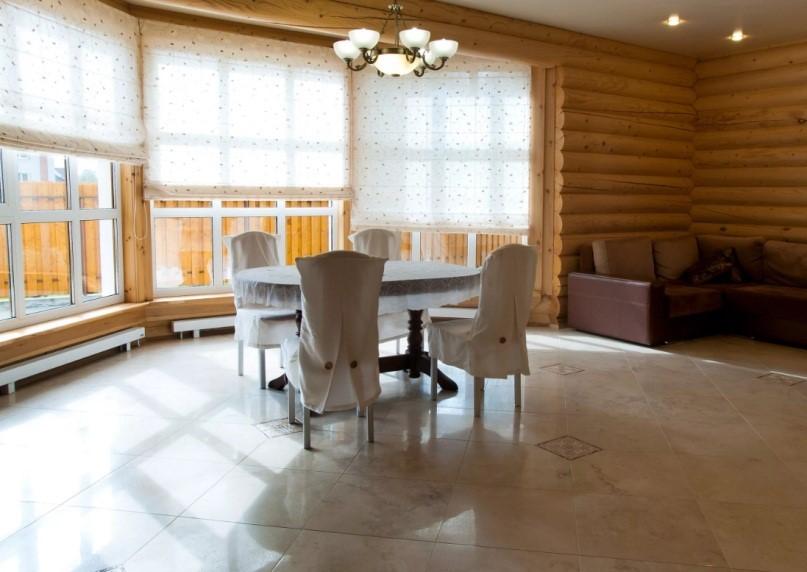 Керамические полы с подогревом можно сделать и в деревянном доме