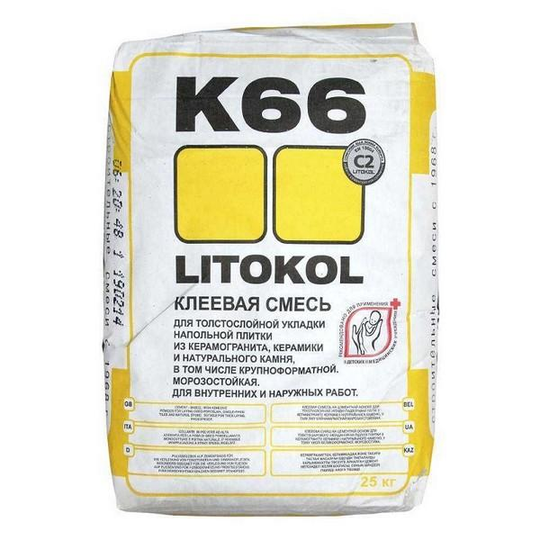 Плиточный клей Litokol – средство российского производства