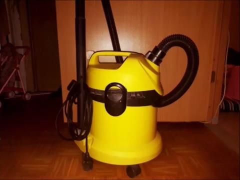 Пылесосим пол