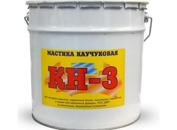 Каучуковая клеевая смесь КБС КН-3