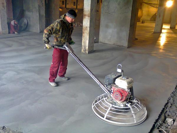 Затирка бетона — как делать правильно?