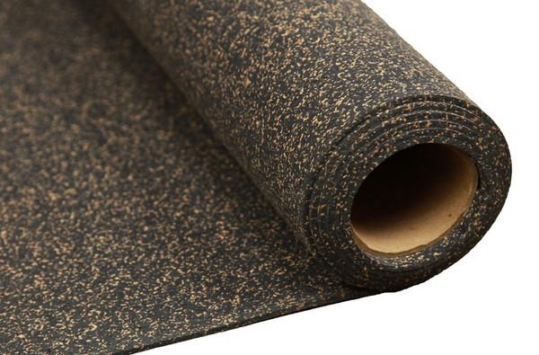 Есть не только чистые пробковые подложки, но и с добавлением резины, битума