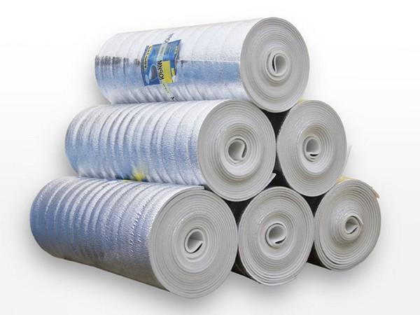 Фольгированная подложка обеспечивает качественную теплоизоляцию