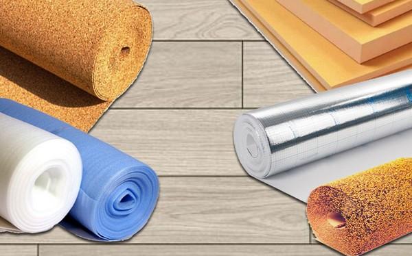 Подложка никак не влияет на функциональность напольного покрытия