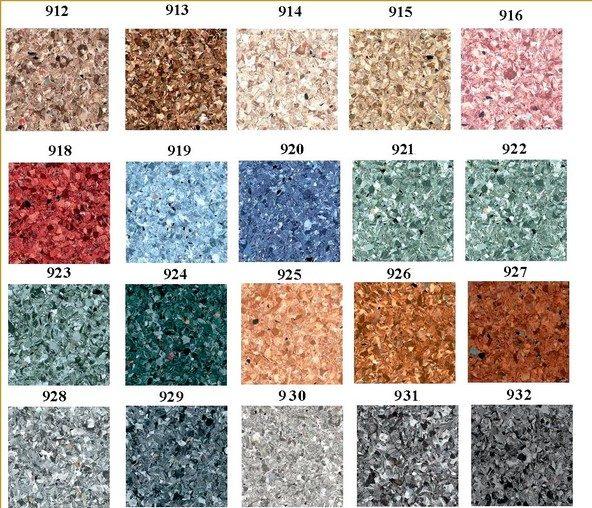 Существует большой ассортимент коммерческого линолеума – можно подобрать материал нужной расцветки и фактуры