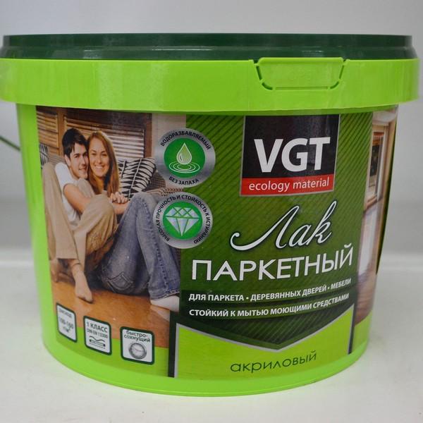 Популярные и лаки для паркета VGT