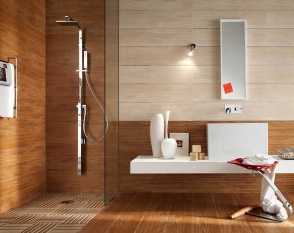 Ламинат вполне можно использовать и в ванной комнате, главное – правильно выбрать материал
