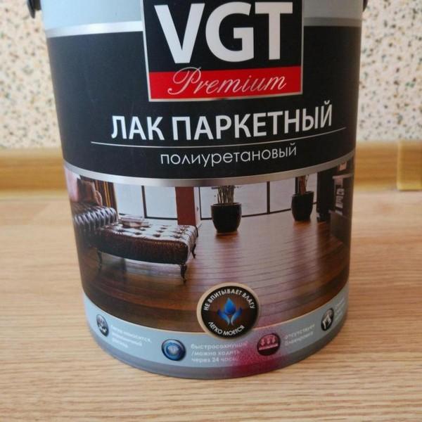 Полиуретановый лак VGT Premium