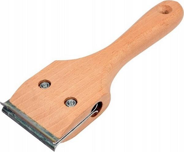 Ручной инструмент для очистки поверхности древесины