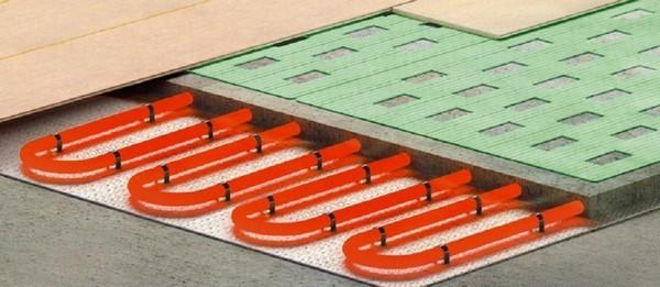 Если вы планируете положить теплый пол под ламинат, нужно выбирать предназначенную для таких целей подложку