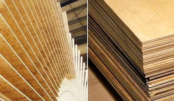 ОСБ легче фанеры, что важно при монтаже материала