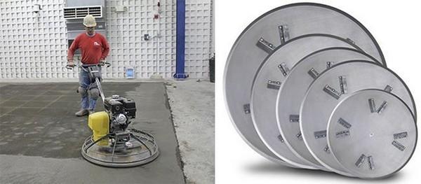 Имеет значение форма кромки диска – для разных целей используются разные диски