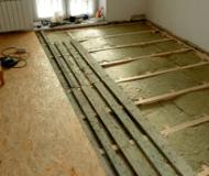 Сколько стоит поменять пол в квартире